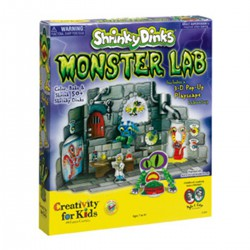Shrinky Dinks - Moster Lab - Mounstros Shrinky Dinks