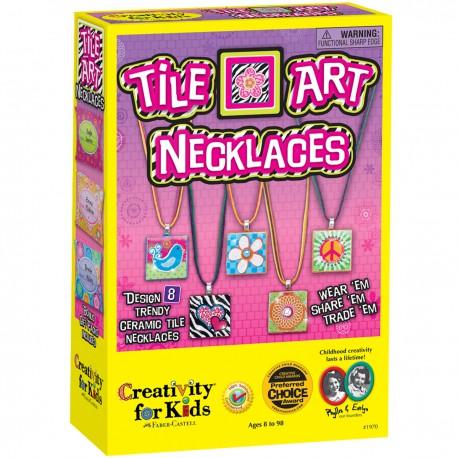 Tile Art Necklaces - Collares de Mosáicos de Cerámica