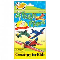4 Foam Flyers - Aviones Voladores