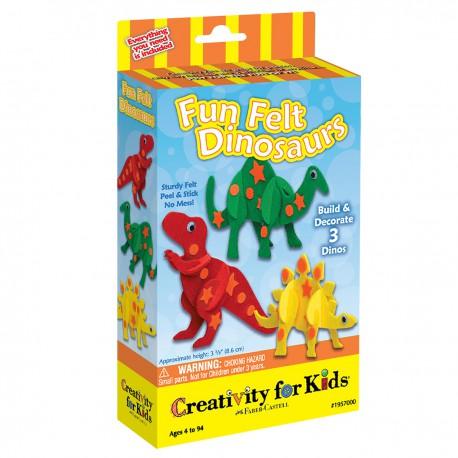 Dinosaurios de Felpa