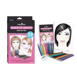 Make Up Sketch set - Juego Bocetos Maquillista
