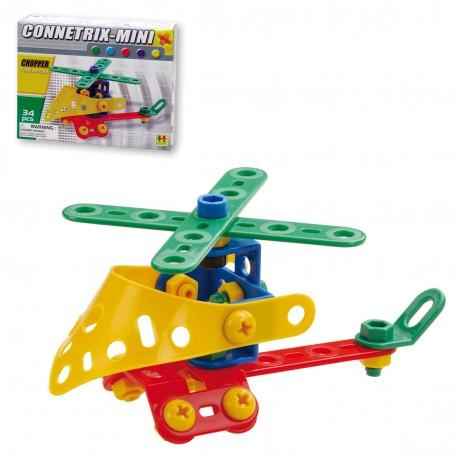 Connectrix Mini- Helicoptero mini 34 pz