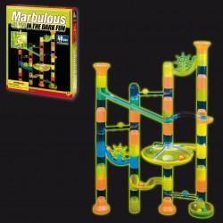 Marbulous Fluorescente 46 piezas +12 canicas) Glow in the Dark