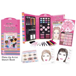 Make up Artist Sketch Book - Juego que Imita Preparaciones Maquillaje