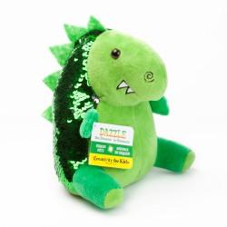 Dinosaurio Mini (Peluche de lentejuela)