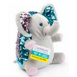 Elefante Mini (Peluche de lentejuela)